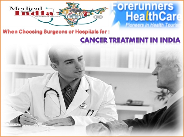 Choosing Cancer Treatment in India